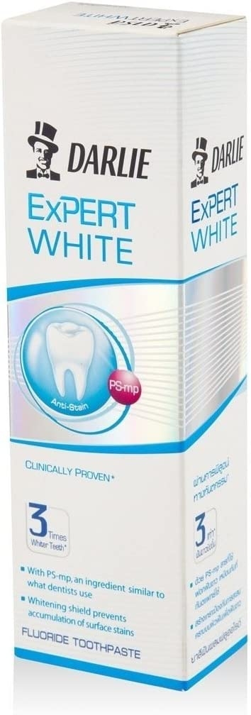 Classic Darlie Toothpaste Expert White 3 G. Times Teeth Whiter specialty shop 120