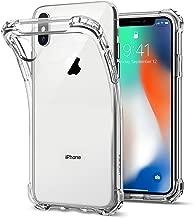 Spigen Rugged Crystal Designed for Apple iPhone Xs Case (2018) / Designed for Apple iPhone X Case (2017) - Crystal Clear