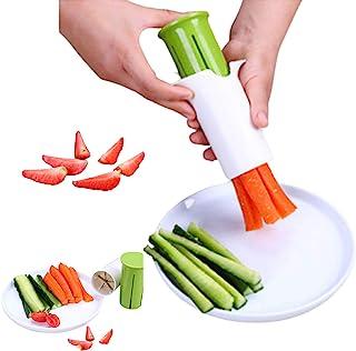 Cucumber Slicer, Strawberry Slicer, Grape Slicer, Carrot Cutter, Potato Cutter, Creative Kitchen Tools, br>Multi-Function ...