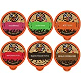 Crazy Cups Flavored Coffee for The Keurig K Cups 2.0 Brewer, Lover's Variety Pack, 24Count