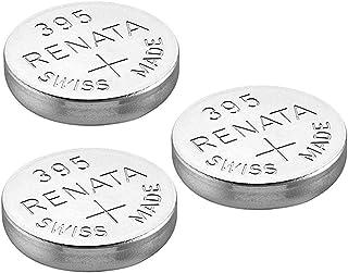 Renata Single Watch Battery Swiss Made Renata 395 or SR927SW Or AG7 1.5V (3 x 395 or SR927SW)