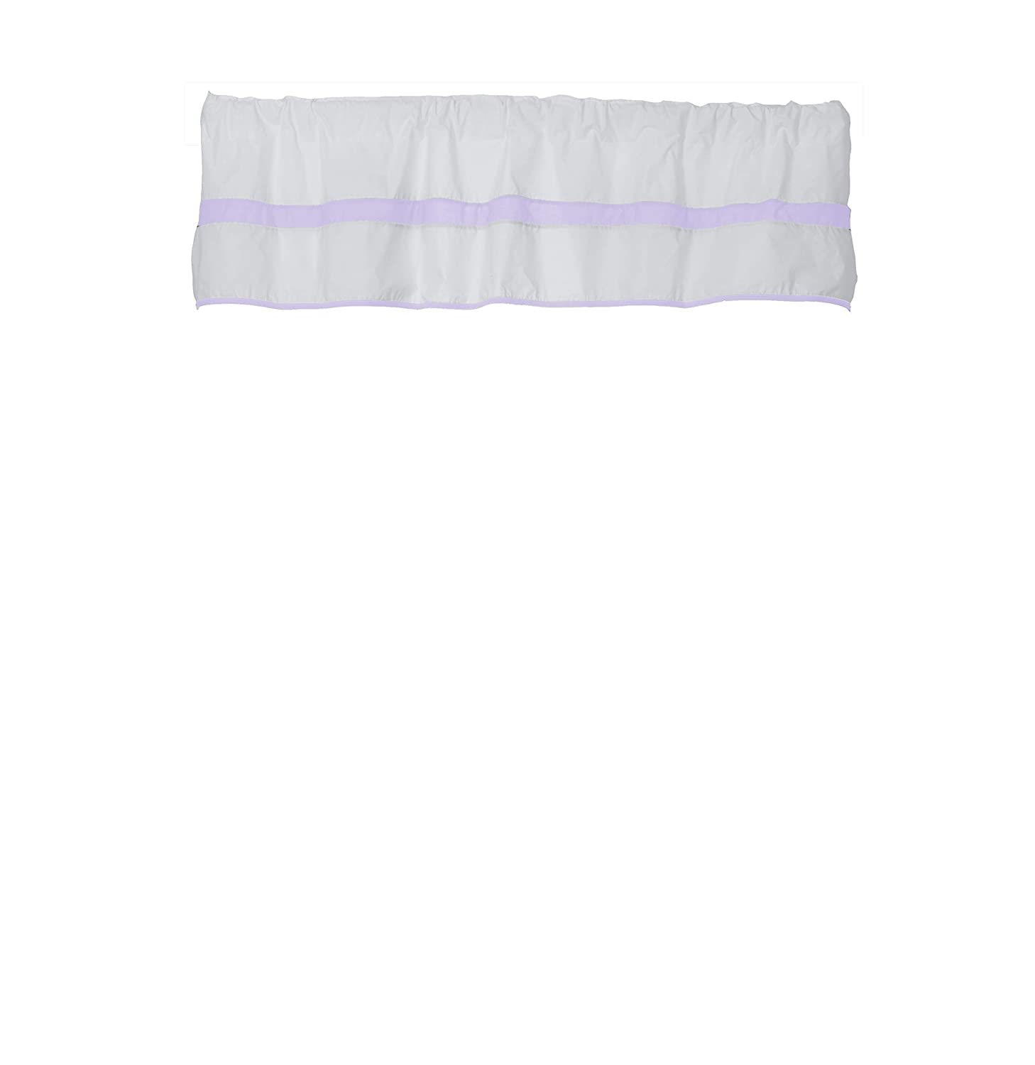 Baby Doll Bedding Modern Hotel Valance 70% Detroit Mall OFF Outlet Style Lavender Window