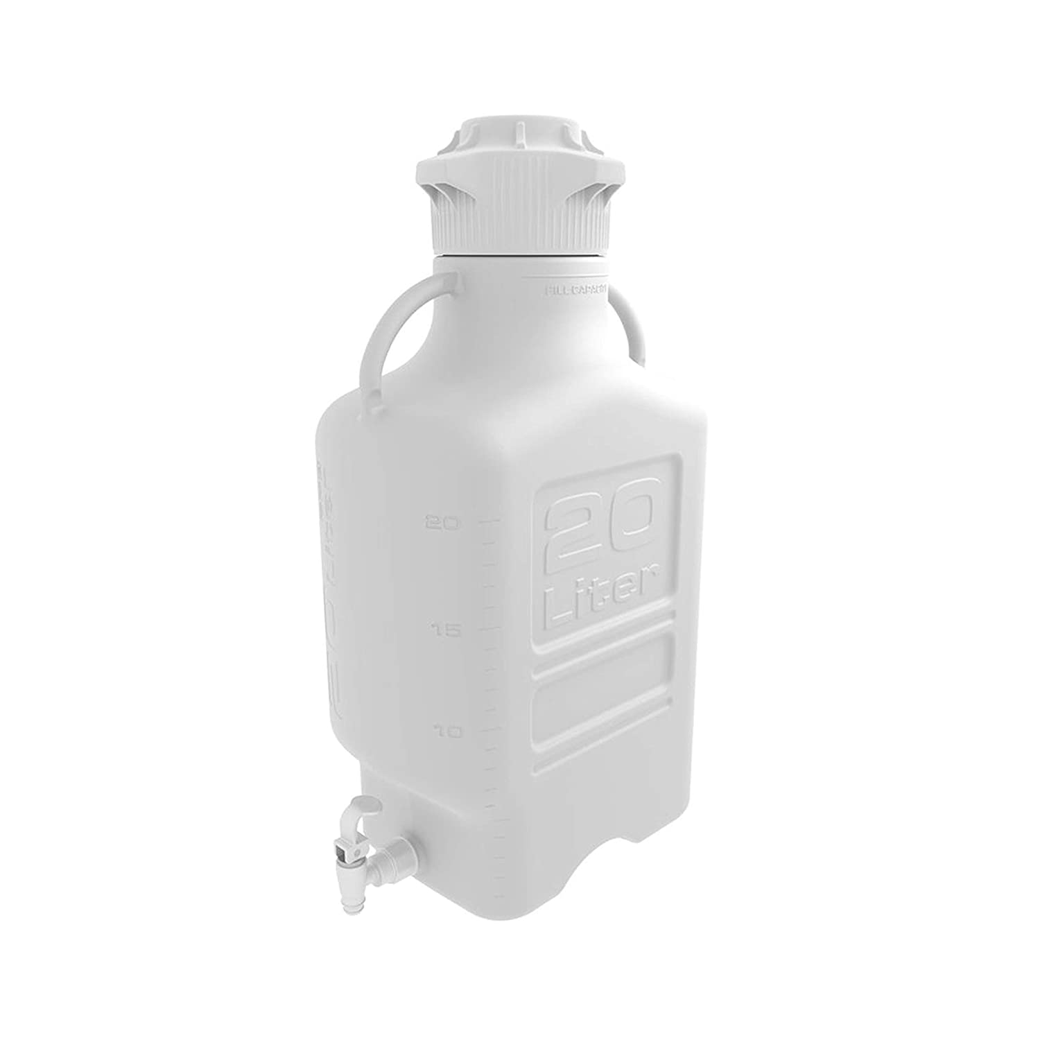 EZgrip 20L 5 Genuine Free Shipping Gal HDPE Space Spigo Leakproof Max 43% OFF Carboy with Saving
