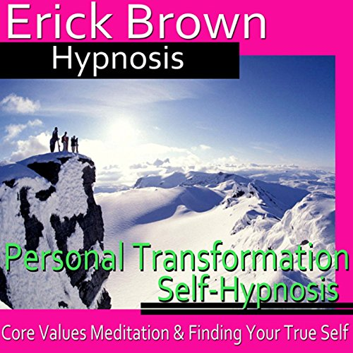 Personal Transformation Hypnosis audiobook cover art