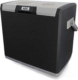 AEG Automotive 10697 Nevera termoeléctrica KK 28 litros, 12/230 V para Coche y Enchufe
