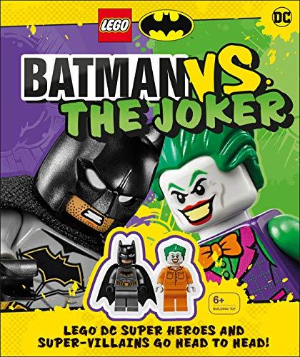 LEGO Batman Batman Vs. The Joker: LEGO DC Super Heroes and Super-villains Go Head to Head w/two LEGO minifigures!