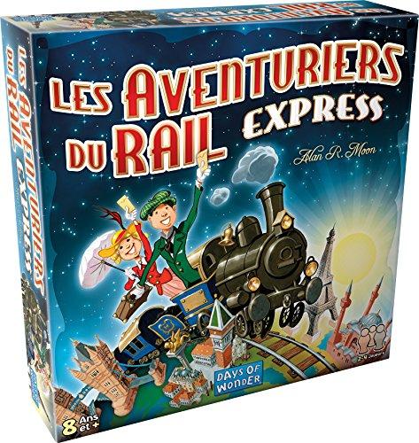 Les aventuriers du rail Express - Asmodee - Jeu de société - Jeu de stratégie