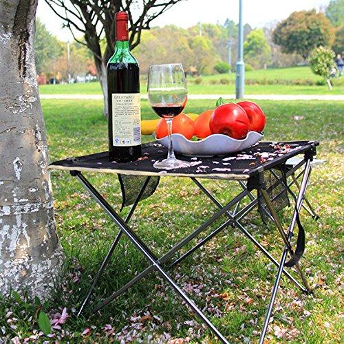 ILS – Mobilia doméstica plegable multifuncional escritorio plegable ligero picnic mesa de picnic