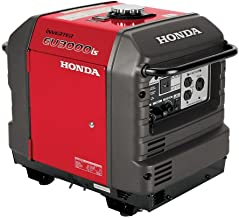 Honda EU3000iS, 2800 Running Watts/3000 Starting Watts, Gas Powered, Portable Inverter