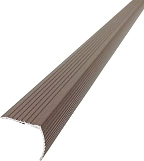 M-D Building Products 43311 M-D Fluted Stair Edging Transition Strip, 36 in L, Aluminum, Prefinished, Spice, quot