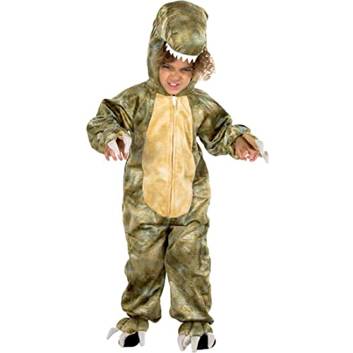 Natural History Museum T-Rex Fancy Dress Costume (Official Licensed) - Kids Costume 3 - 5 years