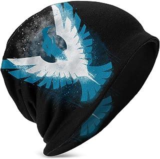 Hdadwy Beanie Hat Infamous Second Son Gorro de Punto con puños y Calavera Fina para niños y niñas, Color Negro