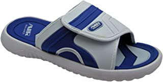 AIR Boys Comfortable Shower Beach Sandal Slippers w/Adjustable Strap in Classy Colors