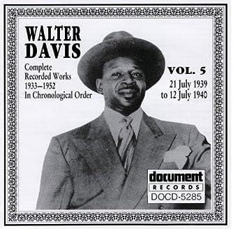 Walter Davis Vol. 5  1939-1940