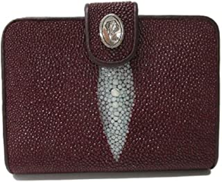 Drumsurn Imports Genuine Stingray Leather French Purse