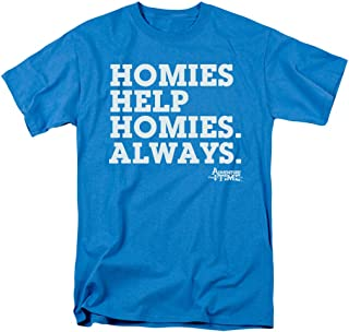 Adventure Time Homies Help Cartoon Network T Shirt & Stickers