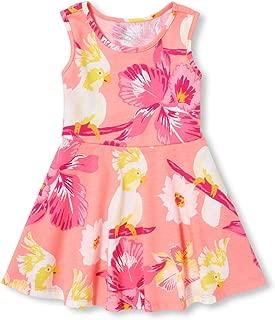 Baby Girls Sleeveless Printed Skater Dress