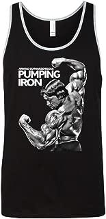 Arnold Schwarzenegger Pumping Iron Men's Workout Gym Tank Top T Shirt