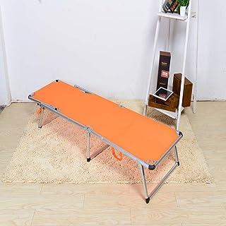 Jia Xing Imple lit pliant bureau lit de déjeuner lit pliant renfort lit double lit de camping lit de plage lit d'accompagn...