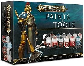 Games Workshop Warhammer Age of Sigmar Paint & Tools Set