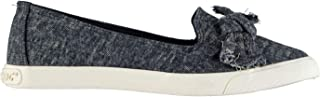 Rocket Dog Clarita Bow Slip On Denim Shoes Womens Blue Trainers Sneakers