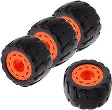 Toygogo Durable Wearproof Longboard Mountainboard Rubber Wheel 70mm 75A, Set of 4