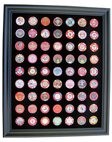 Tiny Treasures, LLC. - Poker Chips in Schwarz, Größe 23h x 19w