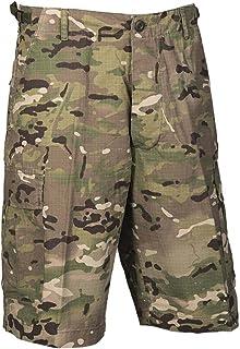 Mil-Tec US Lavados Ripstop Bermuda Pantalones Cortos Woodland