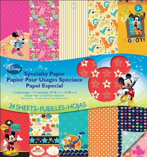 EK Success Disney Specialty Paper Pad, Mickey Family