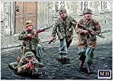 NEW GERMAN PARATROOPERS WW II ERA 1/35 MASTER BOX 35145 /item# R6SG5EB-48Q15591