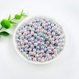 Royal Blue Mezcla Resina Mini Tamaño Medio Perlas Flatback Adornos 500 aprox