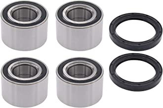 NewYall Pack of 4 Front Rear Left Driver and Right Passenger Side Wheel Bearing with 2 Seals