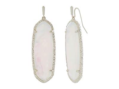 Kendra Scott Layla Drop Earrings (Gold Opalite Illusion) Earring