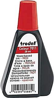 Trodat 7011 Stamp Pad Ink 28ml Red