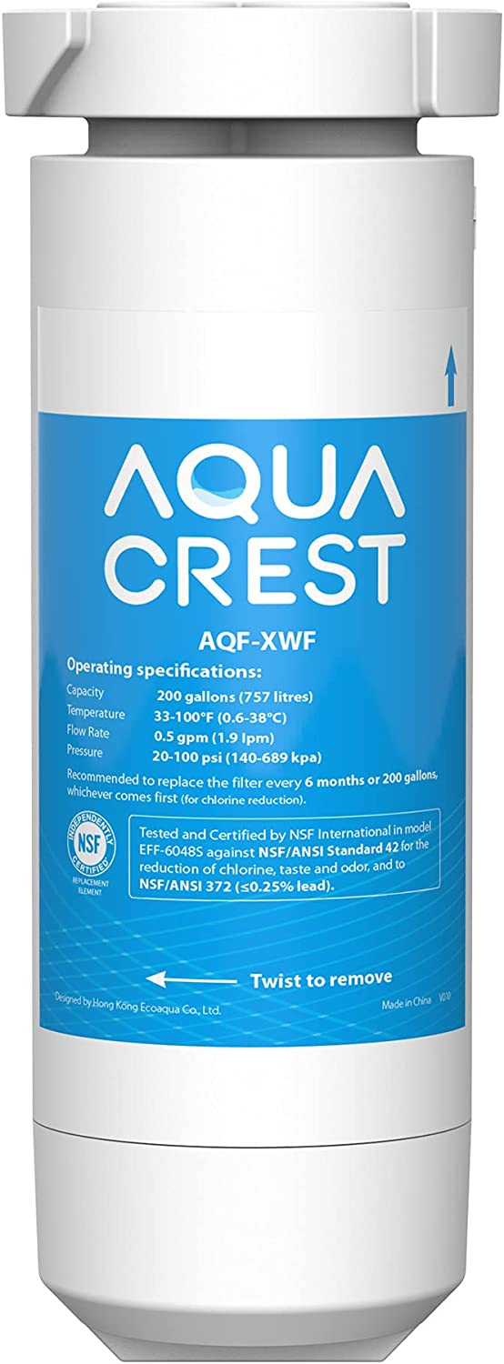 Max 58% OFF AQUACREST XWF NSF Certified Filter Refrigerator Sales Compatibl Water