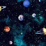 Arthouse, Kids Cosmos Space Planets - Papel pintado, color gris