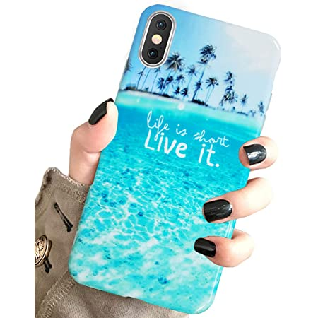 Amazon.com: TPU Case for Phone Xs & Cover for Phone X & MUQR ...