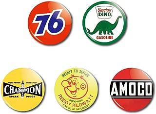 アメリカンキャラクター缶バッチ 5個セット F【並行輸入】