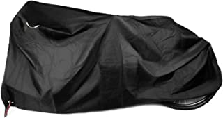 Kotivie Tandem Bicycle Cover Extra Long Bike Storage Cover 2 Seater Trailer Bike Cover Waterproof Sun Protection