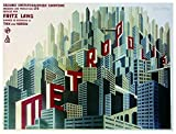 Close Up Metropolis Poster (69cm x 93cm)