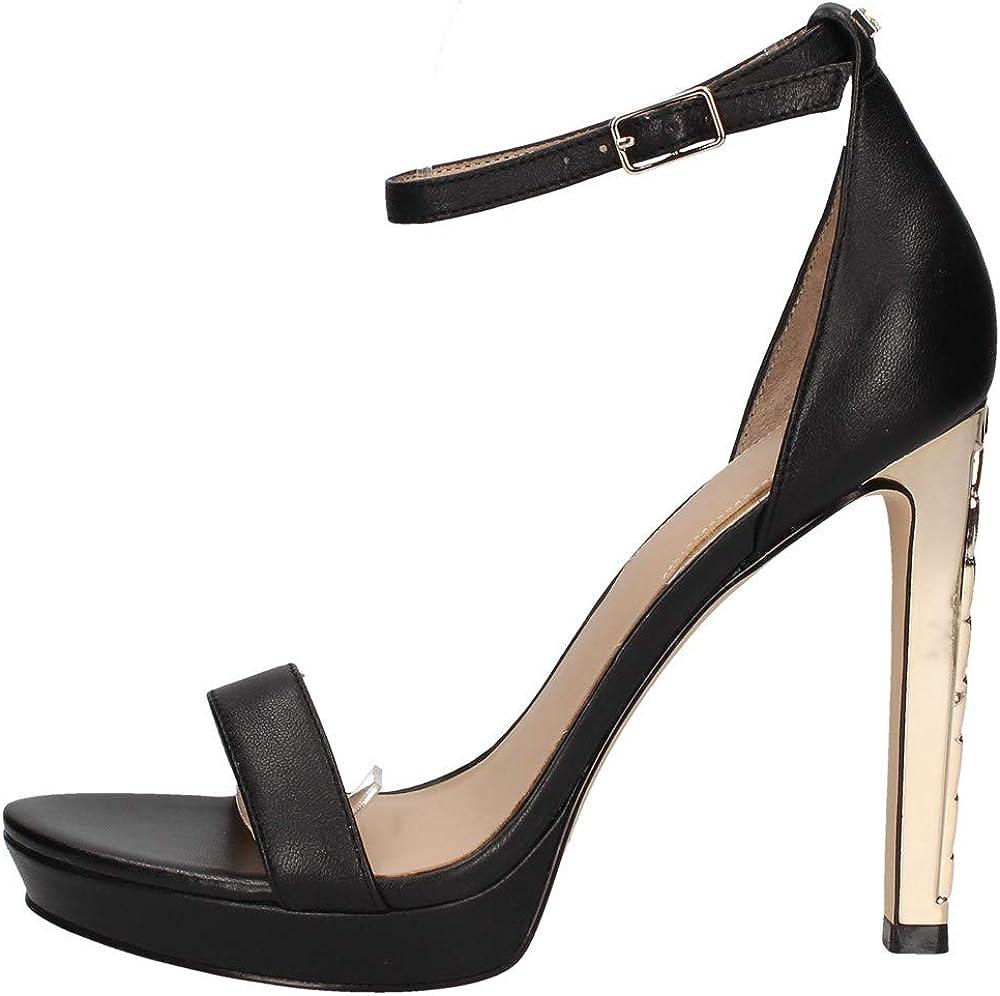 Guess, sandalo con il tacco per donne,in pelle FL6EIYLEA03