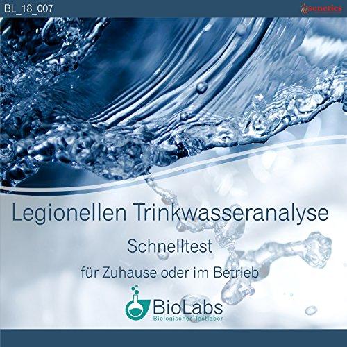 Wasser-Test: Testung Ihrer Proben auf Legionellen (Schnelltest)