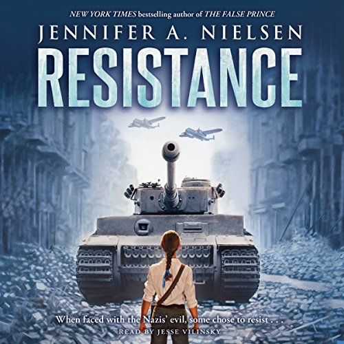 Resistance Audiobook By Jennifer A. Nielsen cover art