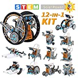 Lucky Doug Solar Robot Kit 12-in-1 Science STEM Robot Kit Toys for Kids Aged 8-12 and order, Science Building Set Gift for Boys Girls Students Teens, Educational DIY Assembly Kit with Solar Powered