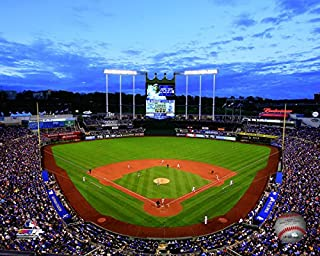 MLB Kauffman Stadium Kansas City Royals 2015 Photo (Size: 8
