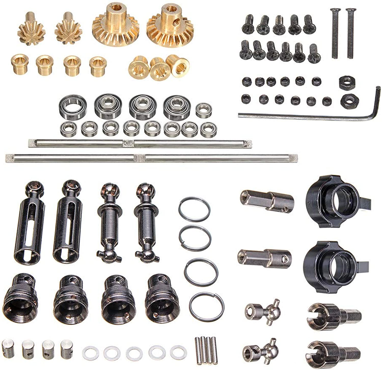 garantizado VIDOO Wpl Metal Metal Metal Op Accesorio para 1 16 4Wd B1 B14 B24 C14 C24 RC Piezas De Coche  seguro de calidad