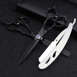 Hair Cutting Scissors Kit Hair Straight Professional Hairdressing Scissor Hair Scissors Thinning Scissors Barber Salon Too...