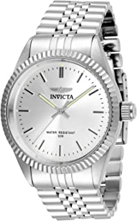 Invicta Men's Specialty Quartz Watch with Stainless Steel Strap, Silver, 22 (Model: 29373)