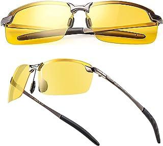 عینک آفتابی در شب / عینک آفتابی ورزشی قطبی - ضد تابش خیره کننده   محافظ UV 400   شب رانندگی   ماهیگیری   ورزش در فضای باز   عینک Unisex
