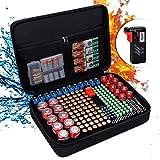 ENGPOW - Organizzatore batteria ignifugo con tester (BT168), impermeabile e resistente all...